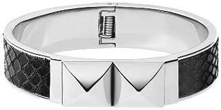 Michael Kors Stainless Steel Bracelet for Women, Black, MKJ2974