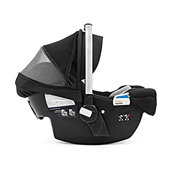 Stokke PIPA by Nuna Car Seat Black - Ergonomic Design - Effortless Installation - Adjustable Safety Harness & Side Impact Protection - for Babies Up to 32 lbs./32 in - Base Included