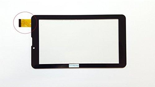Schwarz Touchscreen Digitizer Glas Version 1 komp. Mit Odys Rapid 7 LTE
