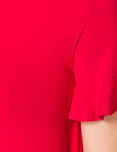 Desigual Vest_Kali Vestido Casual, Rojo, L para Mujer