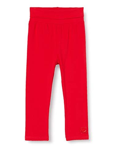 Steiff Baby-Mädchen Leggings, Rot (Tango Red 4008), 86 (Herstellergröße: 086)