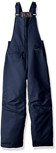 Arctix Youth Insulated Snow Bib Overalls, Blue Night, Small/Regular