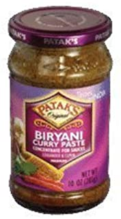 Patak's Biryani Curry Paste (Medium) 283gms(Pack of 2)- Indian Grocery by Patak's