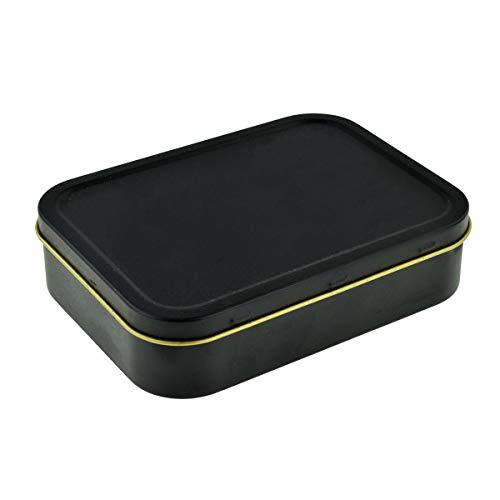 Black 2oz Tobacco or Storage Tin