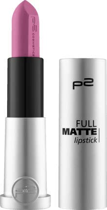 p2 cosmetics Full Matte Lippenstift Lipstick, 5 g (100 score higher)