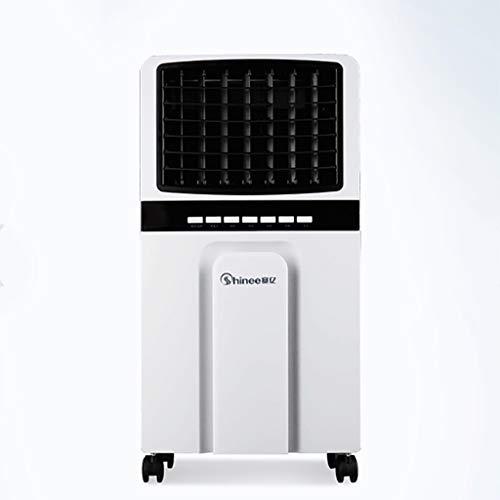 Huishoudelijke airconditioningventilator, persoonlijke ruimtekoeler met afstandsbediening en timer, lucht-ioniser-luchtkoeler met luchtreiniger-bevochtiger, luchtcirculatie-ventilatormotor