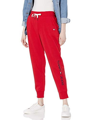 Tommy Hilfiger Women's Jogger Pants, Scarlet, Small