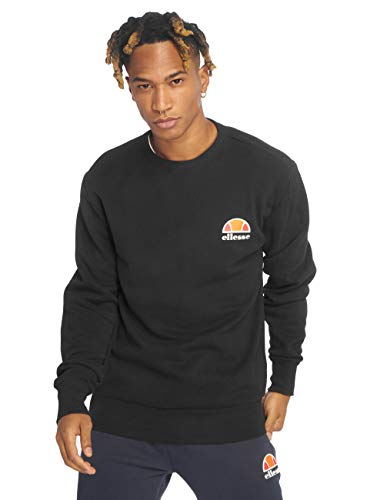 ellesse Men's Diveria Left Chest Logo Sweatshirt, Black, S