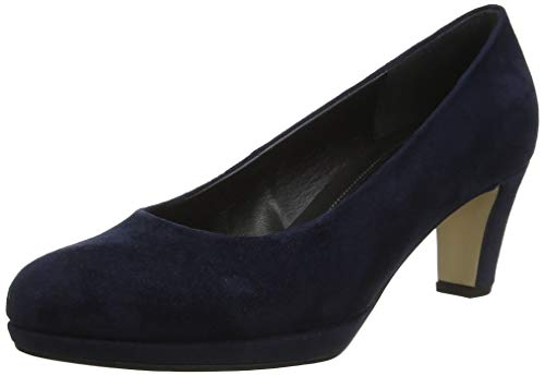 Gabor Damen Fashion Pumps, Blau (River 46), 40.5 EU