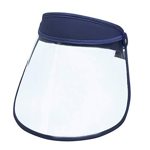 Panegy - Visiera Viso Cappello Protettivo per Gli Occhi Trasparente Facce Antipolvere Anti-Saliva Antiappannante Pretector facciale Unisex per Bocca Occhi per Medico Ospedale Infermiere Cuoco