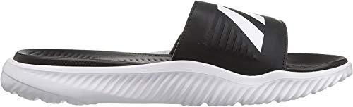 adidas Men's Alphabounce Slide Sandals, Core Black/White, ((6 M US)