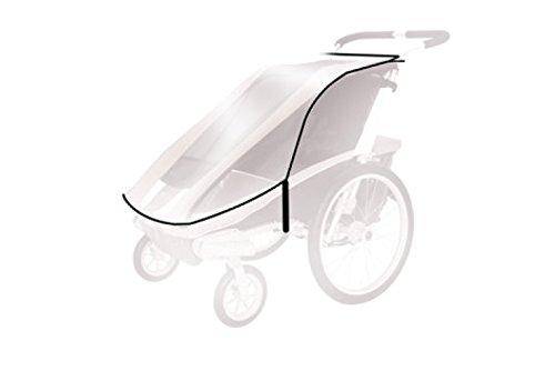 Thule Baby für Chariot Cougar 2, Cx2 Spritzschutz, transparent, One Size