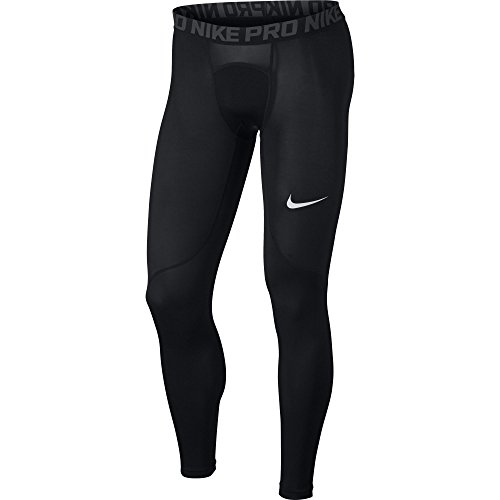 Nike Men's Pro Tights Black/Anthracite/White Size Large