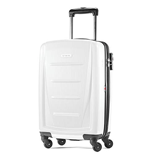 Samsonite Winfield 2 Hardside Expandable Luggage with Spinner Wheels, Brushed White, Carry-On 20-Inch