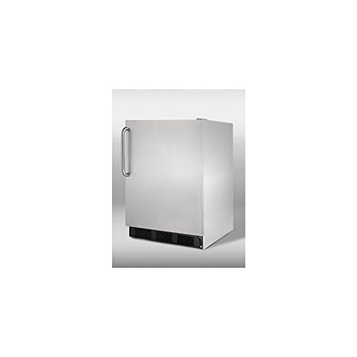 Summit CT66BCSS Refrigerator, Stainless Steel