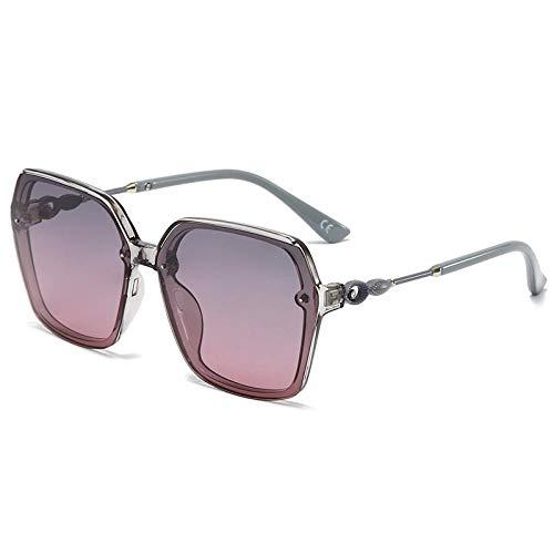 Gosunfly Gafas de sol polarizadas de boxeo grandes conductora conduciendo gafas de sol INS-Caja gris sobre polvo gris