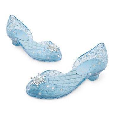 Chaussures Elsa de La Reine des Neiges - Disney pantoufle taille UK, 13 -- EU, 31.5