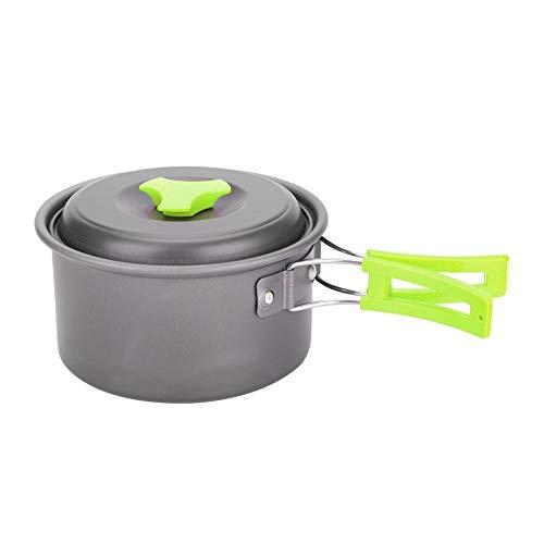 Camping Kookgerei Pannen Kookset In draagtas Pannen en potten Uitrusting voor trekking Wandelen Picknick
