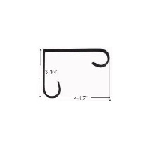 Mintcraft GB0173L Support pour Pot de Fleurs Noir 10,2 cm
