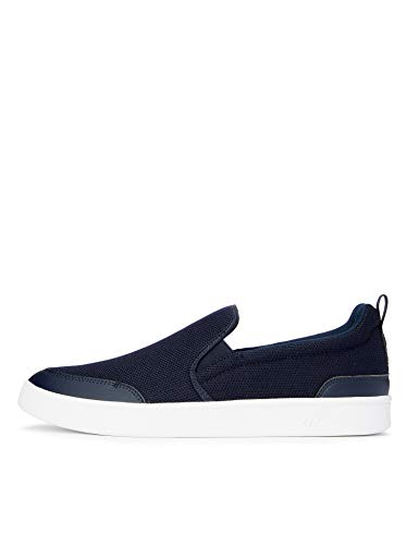 CARE OF by PUMA Men's Slip On Court Low-Top Sneakers, Blue Navy Blazer Indigo, US 13