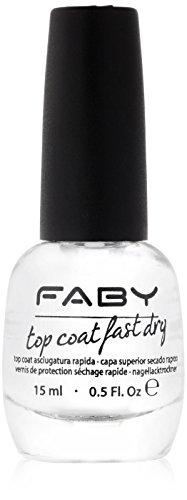 FABY Nagellack Top Coat Fast Dry, 15 ml