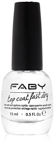 FABY Nagellack Top Coat Fast Dry, 15 ml