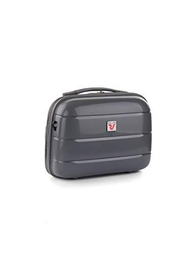 Roncato Flight DLX Beauty case rigido con tracolla antracite