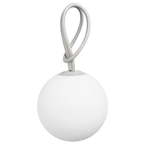 Fatboy® Bolleke lichtgrau | Hängelampe für Innen & Außen | ohne Kabel | aufladbar mit USB | 20 x 20 x 100 cm