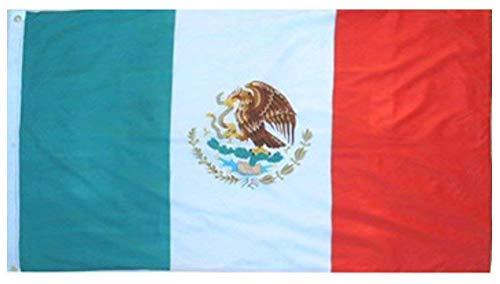 Klicnow Drapeau du Mexique 0,91 x 1,50 m