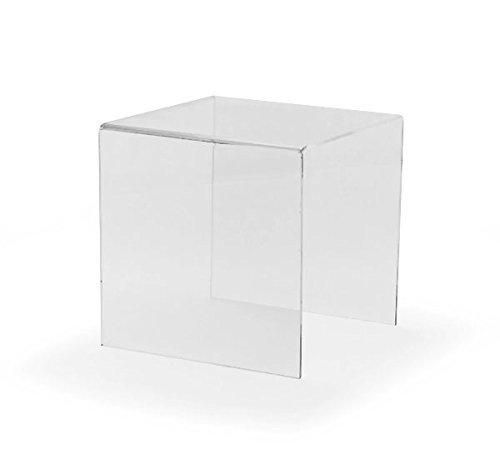 Hansen Dekobrücke/Dekopodest/Warenpodest/U-Aufsteller/U-Ständer aus Acryl/Acrylglas (Plexiglas) 300x300x300 mm