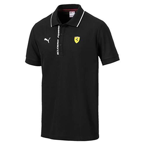 PUMA Ferrari Herren Polo Puma Black S