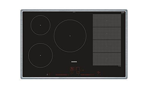 Siemens EX845LVC1E iQ700 Induktionskochfeld / 79.5 cm / varioInduktion / PowerBoost / bratSensor Plus / Glaskeramik