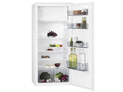 AEG SFB41211AS integrierter Kühlschrank 188L A+ weiß - Kombi-Kühlbox (integriert, weiß, rechts, drehbar, Glas, 188 L)