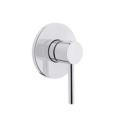 VitrA-Artema Einhebelmischer Unterputz Armatur für Dusch-WC | Unterputzarmatur Anschluss für Warm- & Kaltwasser | Einhebelmischer DIN 1/2 Zoll | Absperrventil
