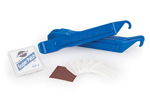 Park Tool TR-1 Bicycle Inner Tube Repair Kit - Tire Levers and Glueless Patch Kit