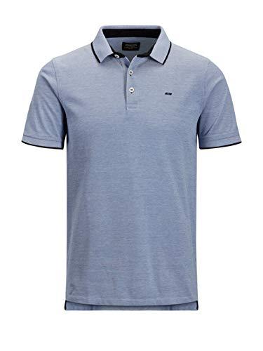 Jack & Jones Plus Jjepaulos Polo SS Noos PS T-Shirt, Cobalt Brillant-Détails :, 4XL Homme