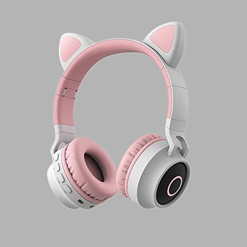 QQDL Auriculares Cerrados Inalámbrico Auriculares Bluetooth Diadema Eliminar el Ruido Carga súper rápida Llevarlo contigo Deporte Trotar Dormir Aprender Estudiante Sonido