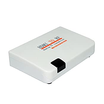 E-SDS HDMI to RF Coaxial Converter Box for Old TV Convert HDMI to Coaxial Analog Signal with Remote Control Support Zoom Function
