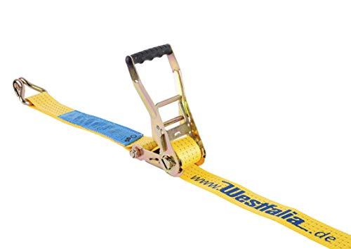 Spanband 2-delig - 8meter / 4000 Dekanewton geel