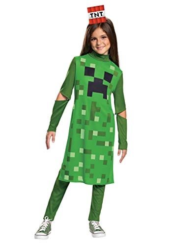 Minecraft Creeper Costume for Girls