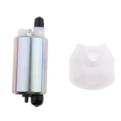 Sharplace Set de Pompe à Carburant Essence Électrique Accessoire ATV pour Kawasaki