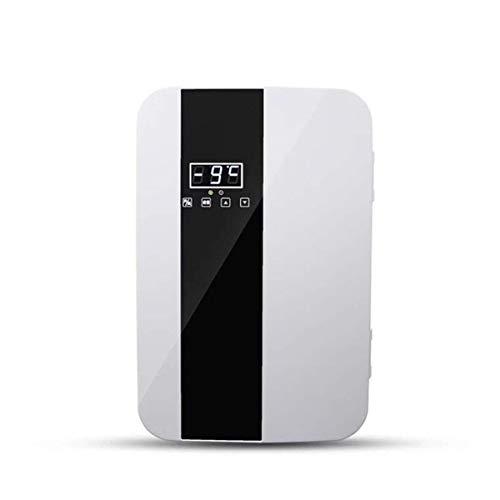 Xlin mini-koelkast, compact, 22 liter, warmer met digitale thermostaat en dual-core koeling, voor auto, reizen, huis, kantoor en woonkamer.