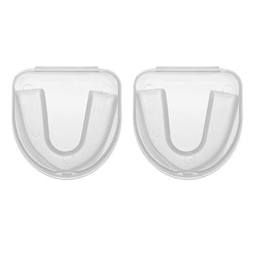 Jinjin Teeth Protector Boxing Basketball Taekwondo Mouth Guard Gum Shield Teeth Protector Mouth Guard Sports Braces Teeth Covers Tooth Guard