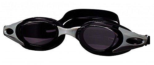 Best Sporting Schwimmbrille Elegance, blau oder schwarz, Farbe:schwarz