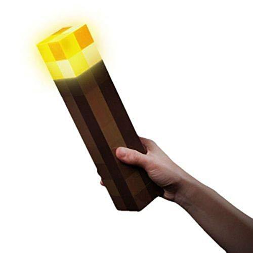 Doubletree - Torcia elettrica a LED per montaggio a parete, 28 cm