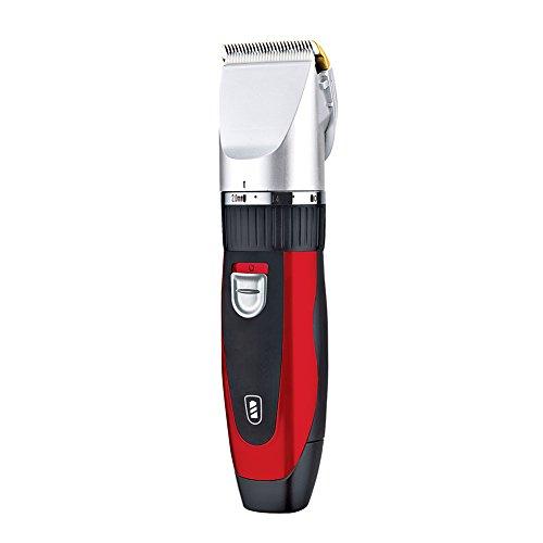 SURKER Haarschneider Haarschneidemaschine Bartschneider Profi Herren Haartrimmer für Bart, Haare und Körper mit 4 Kammaufsätze Drahtlose Nutzung leicht zu bedienen