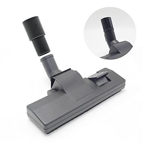 spazzola aspirapolvere universale 32-35MM,spazzola parquet, bocchetta spazzola,utilizzabile su parquet, tappeti, laminato, PVC, piastrelle (nero)