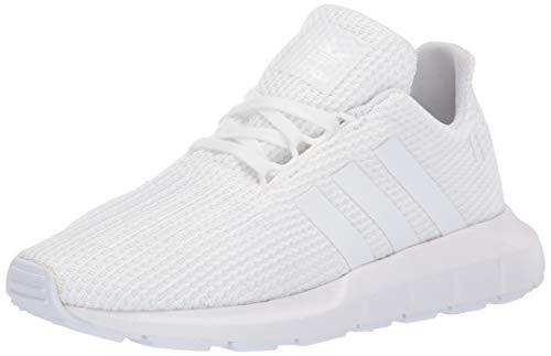 adidas Originals Baby Unisex's Swift Run Sneaker, White/White/White, 8K M US Toddler