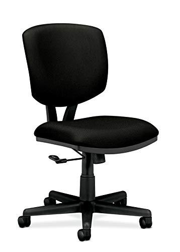 HON Volt Armless Task Chair, Black