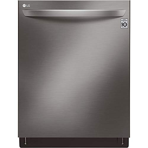 LG LDT7808BD 42dB Black Stainless Top Control Dishwasher